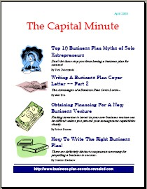 Capital Minute April 2006